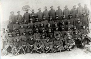 Members of the Royal Australian Naval Bridging Train.