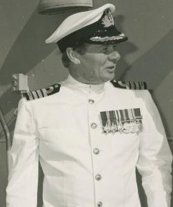 Captain J.A. Robertson, RAN