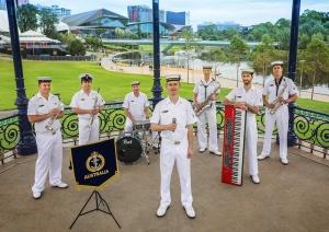 RAN Band South Australia Jazz Ensemble 2021.