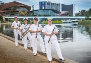 RAN Band South Australia Woodwind Quartet 2021.