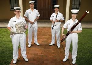 RAN Band Sydney Woodwind Quartet 2021.