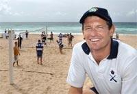 Physical Trainers working hard on Bondi Beach.