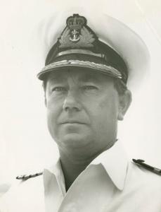Captain AH Cooper, RAN.