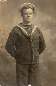 Many sailors of the young Australian Fleet took great pride in having their portraits taken as can be seen in this image of one of Warrego's stokers.