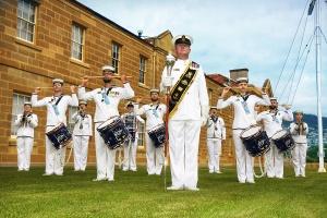 RAN Band Tasmania Drum & Bugle Corps 2021.