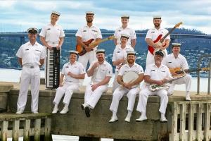 RAN Band Tasmania Rock Band A 2021.