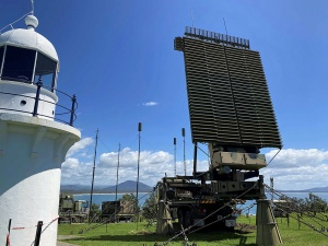 No. 3 Control and Reporting Unit deployment site at Crowdy Head in NSW - supporting Exercise TASMAN SHIELD 2021.