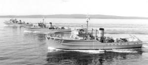 Ton class coastal minesweepers.