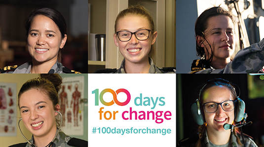 100 Days For Change feature image
