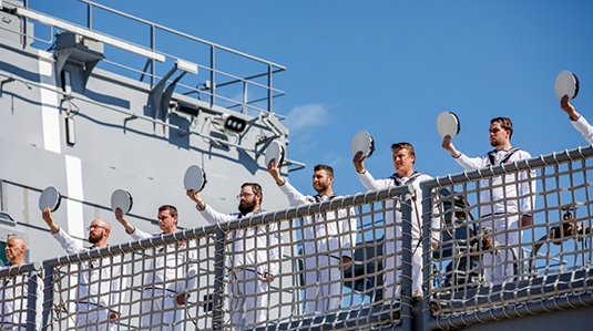 Welcome to the Fleet, HMAS Supply (II) feature image