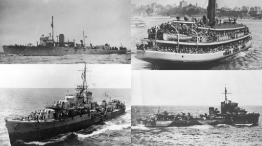 75th Anniversaries of the loss of HMA Ships feature image