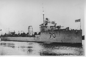 HMAS Warrego (I)