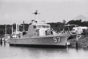 HMAS Barbette