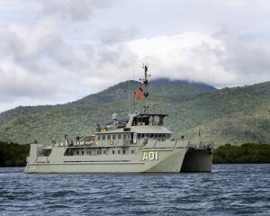 HMAS Paluma (IV) at sea