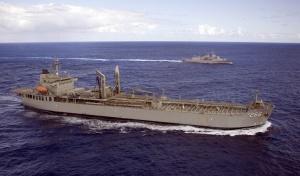 HMAS Sirius at sea