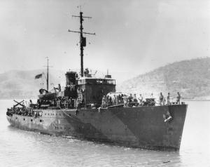 HMAS Armidale (I)