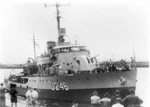 HMAS Fremantle (I)