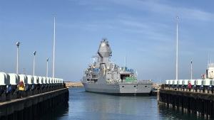 HMAS Arunta (II) following the AMCAP upgrade. Image courtesy of BAE Systems Australia.