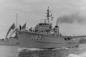HMAS Ibis