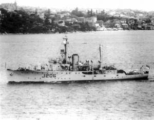 HMAS Lithgow