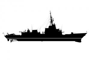 Silhouette image of Sydney (V) DDG
