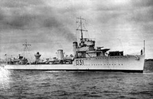 HMAS Voyager (I)